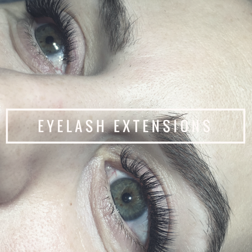 eyelash extensions behandling